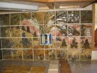 Hand Crafted Custom Wildlife Ceramic Tile Kitchen ...