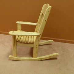 Kids Rocking Chair Hooker Office Hand Made Childrens By Windy Woods