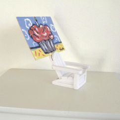 Adirondack Chair Photo Frame Favors Ebay Teal Covers Hand Made Home And Living Place Card