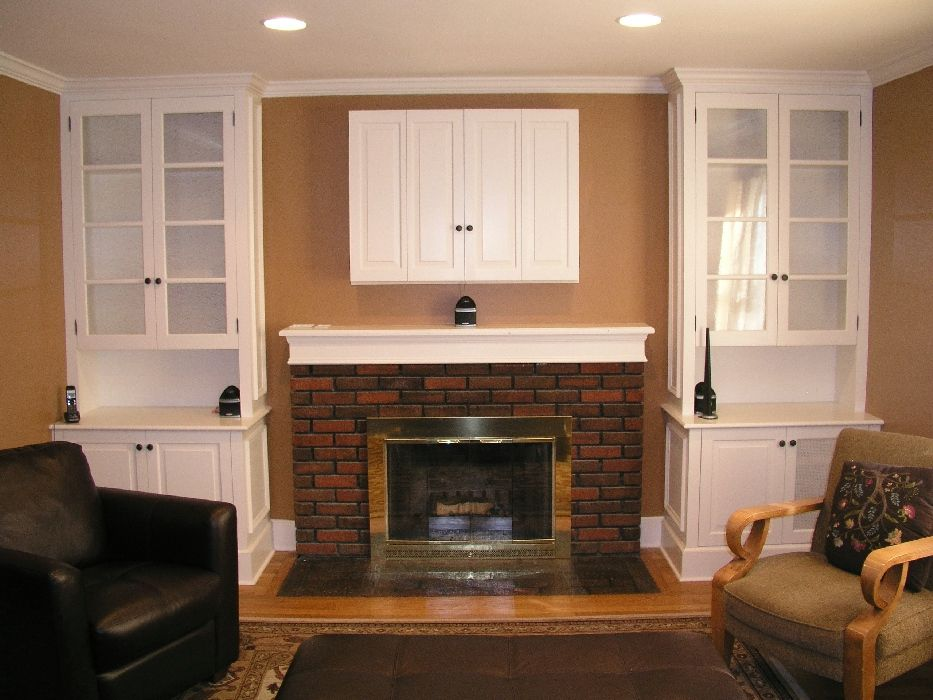 Custom Fireplace And Tv Cabinetry by Tony O'Malley Custom