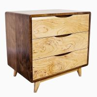 Buy a Hand Crafted 3 Drawer Danish Mid Century Modern