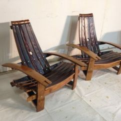 Adirondack Wine Barrel Chairs On Chair Dance Buy Handmade Stave Made To Order From