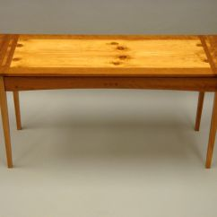 Custom Made Sofa Tables Nailhead Trim Reclining Handmade Console Table By Sugarcreek Woodworks And Design