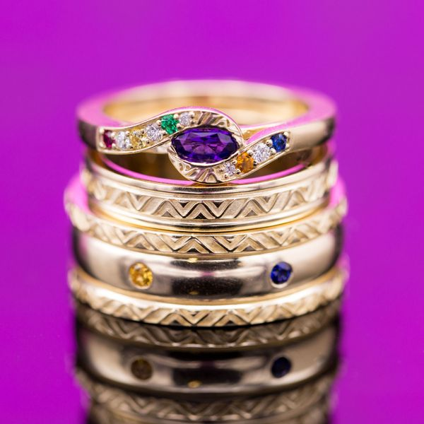 Geeky Engagement Rings Nerdy Wedding Bands