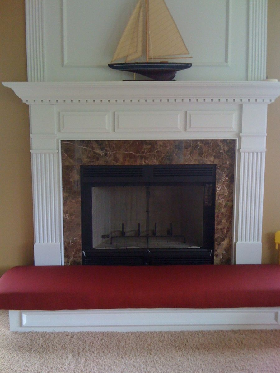 Hand Crafted Fireplace Hearth Safety Cushion by Hearth And