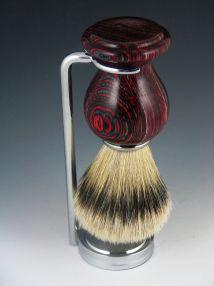 Handmade Silver Tip Badger Hair Shaving Brush