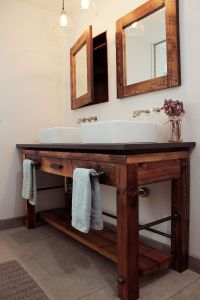 Hand Made Bathroom Vanity by Old Hat Workshop | CustomMade.com