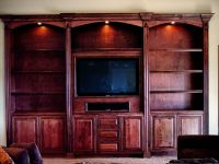 Hand Crafted Built In Entertainment Center by Dk Kustoms ...
