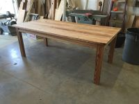 Hand Made Heart Pine Dining Table by Saw Mark Funiture ...