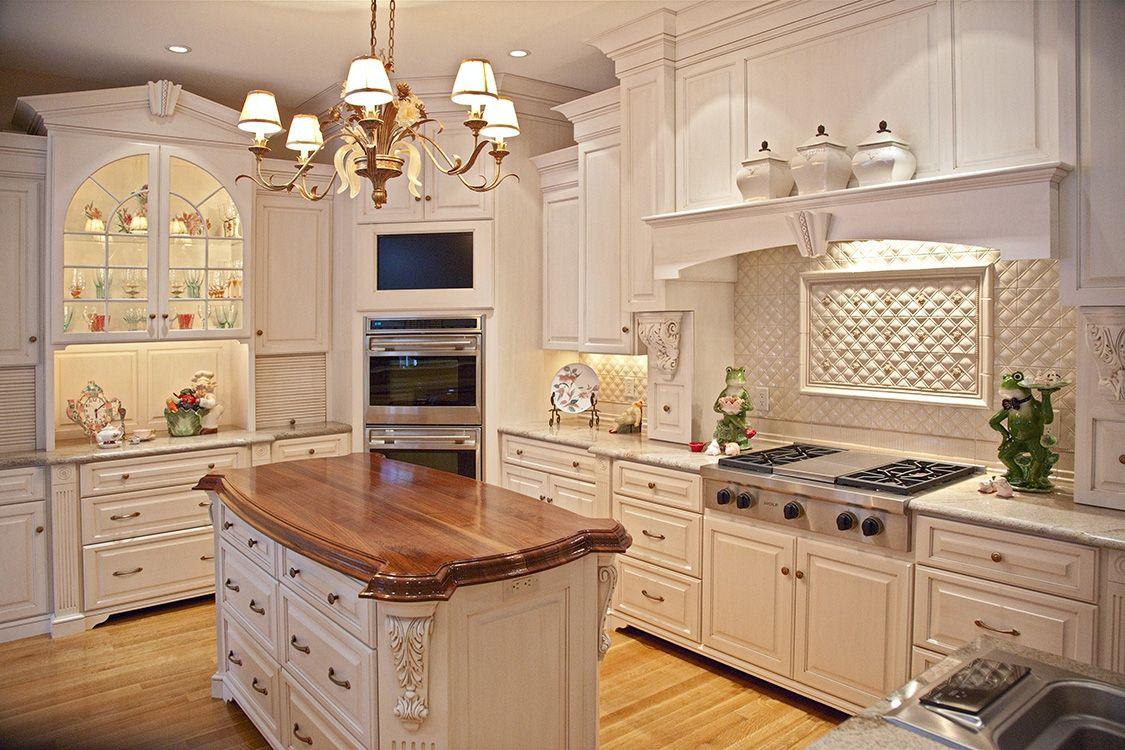Best Kitchen Gallery: Custom Painted Glazed Kitchen By Brunarhans Kitchen And Bath of Beadboard Kitchen Hoods on rachelxblog.com