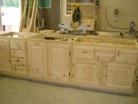Handmade Knotty Pine Cabinets by Pureamerican Creations ...