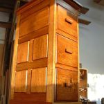 Hand Crafted File Cabinet With Secret Drawer By Blue Hill