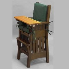 Craftsman Style Chairs Barber Chair Repair Parts Mission Arts Crafts Stickley High