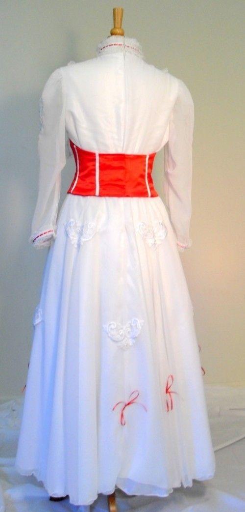 Handmade Custom Mary Poppins Adult Costume By Bbeauty