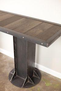 Buy a Custom Console Table (Sofa/Side Table) Vintage ...