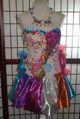 Hand Made Katy Perry California GurlsCandyland Dress by Parasite Eve Designs  CustomMadecom