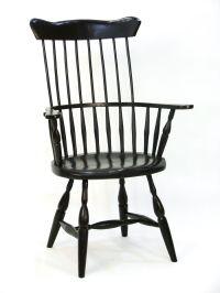 Custom American High Back Windsor Chair by Silvertree ...