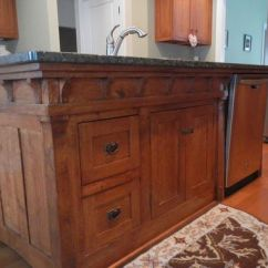 Build Kitchen Island What Is The Best Faucet Handmade Arts And Crafts Style By Paul's ...