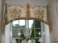 Custom Elegant Window Valance by Caty's Cribs | CustomMade.com