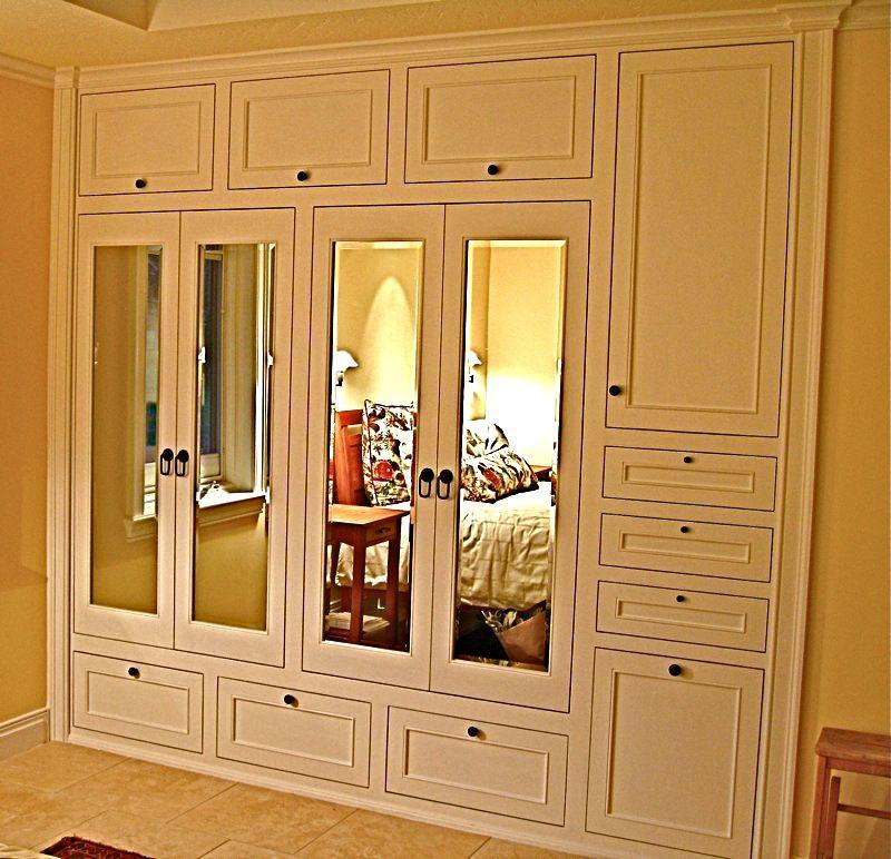 Handmade Custom Builtin His & Hers Closets By Ps