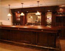 Custom Walnut Bar Dugan' Woodworking