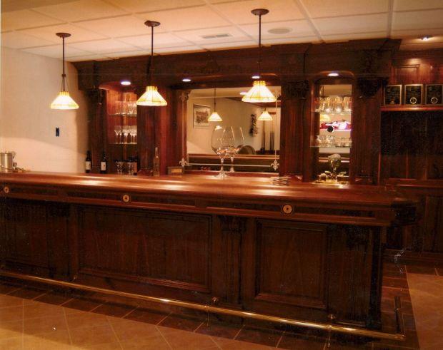 Custom Made Bar - Home Design Ideas
