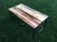 Buy a Custom Made Beetle Kill (Bluestain) Pine Wood Coffee ...