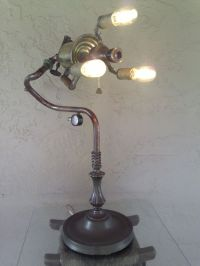 Hand Crafted Industrial/Steampunk Edison Light Vintage ...