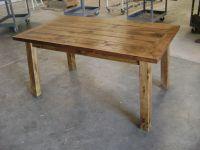 Custom Rustic Pine Dining Table by Philip Skinner ...