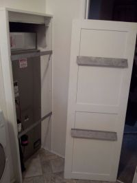 Hand Crafted Door To Cover Furnace by Raylee Repair ...