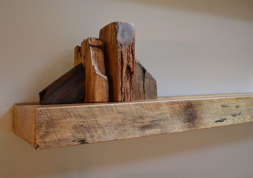 Buy Custom Made Rustic Reclaimed Wood Bookends made to