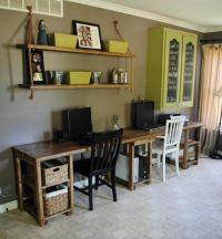 Custom Home Office Desk by Sb Designs   CustomMade.com