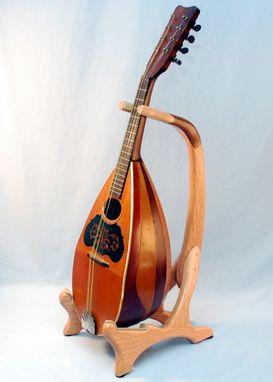 custom oak walnut mandolin