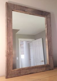 Hand Crafted Reclaimed Wood Mirror by Pulp & Ore ...