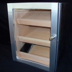 Personalized Kitchen Gifts Island Table Hand Made Cabinet Humidor By Puddle Town Woodworking ...