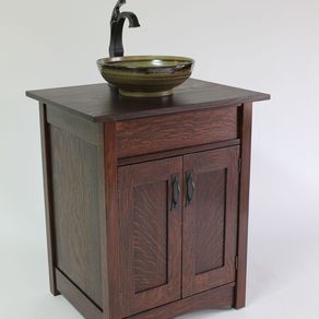 craftsman style chairs travel high chair booster seats mission arts crafts stickley artsink vanity