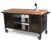 Custom Made Industrial Home Bar Reclaimed Wood, Coffee ...