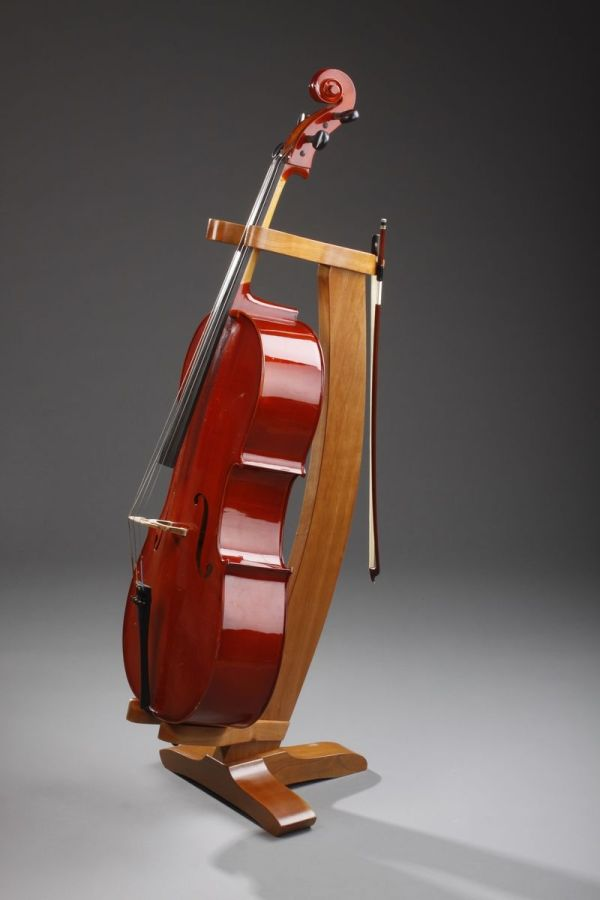 Hand Crafted Cherry Cello Stand Nwb Woodworks