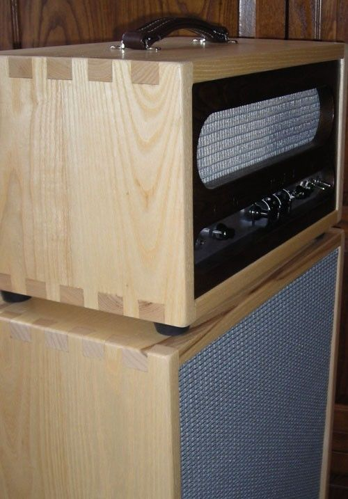 Hand Crafted Custom Amp Cabinet by Burch Guitars Burch Studios  CustomMadecom