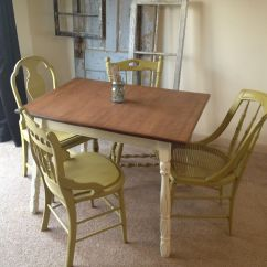 Kitchen Table With 4 Chairs Geeky Gadgets Hand Crafted Vintage Small Four Miss