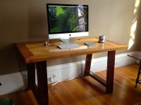 Hand Made Industrial Mill-Inspired Reclaimed Wood Desk by ...