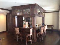 Handmade Custom Basement Bar by Enoch Choi Design