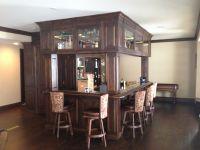 Handmade Custom Basement Bar by Enoch Choi Design ...