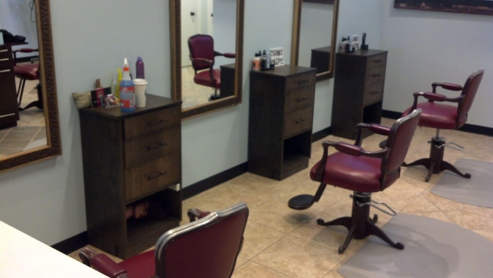 Custom Made Salon Stations By JHO Studios LLC