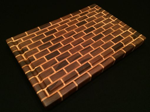 Hand Made Signature Black Brick Design End Grain Cutting
