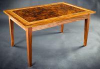 Custom Walnut Burl Coffee Table by E N Curtis Woodworks ...
