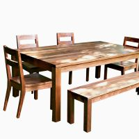 Buy a Hand Crafted Modern Farmhouse Dining Table, made to ...