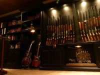 Hand Crafted Built-In Gun Display Cabinets by Blue Company ...