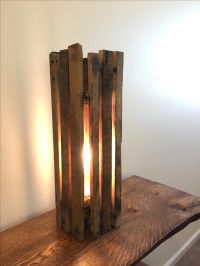 Buy a Custom Handcrafted Pallet Light Fixture, made to ...