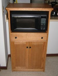 Hand Crafted Microwave Cabinet by Joey's Custom ...